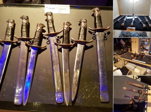 Cymbeline daggers